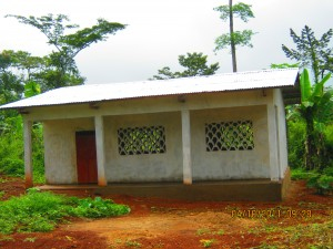 Classroom built at Bompello Baka School