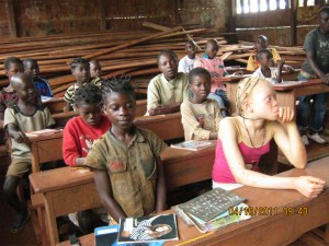 Children at Bompello Baka School