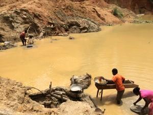 Mining gold